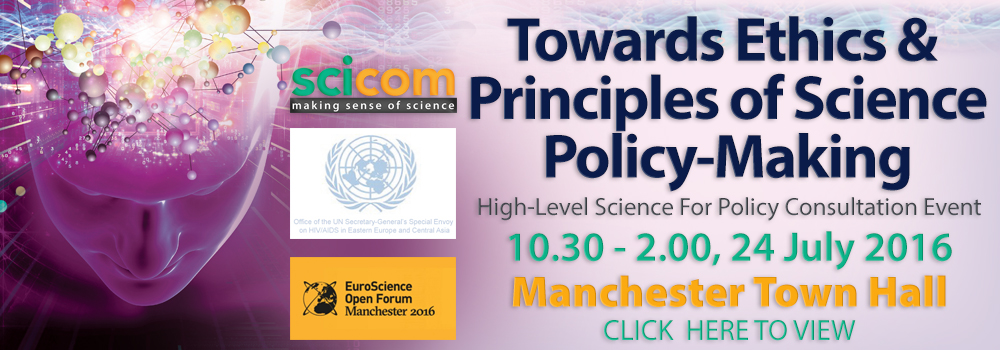 Towards Ethics & Principles of Science-Policy Making
